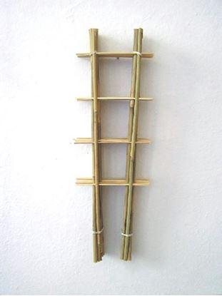 Obrázok z Rebrík bambusový 45 cm - BALENIE 10ks
