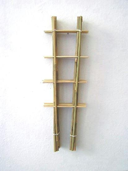 Obrázek z Žebřík bambusový 90 cm - BALENÍ 10ks