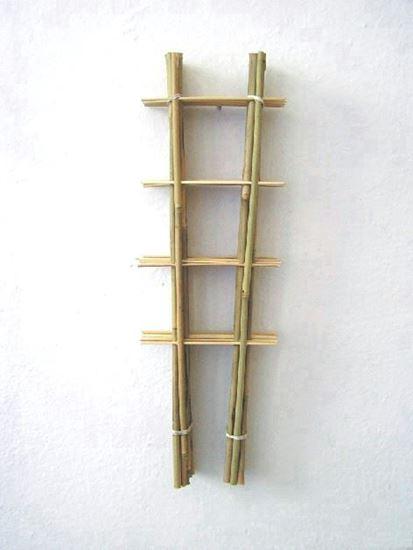 Obrázek z Žebřík bambusový 105 cm - BALENÍ 10ks