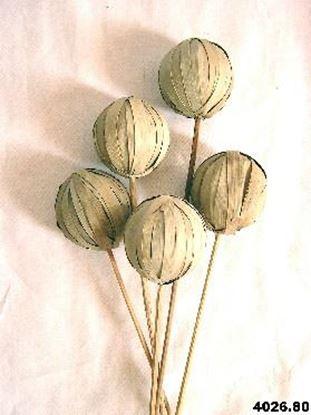 Obrázek Khej leaf ball - přírodní (10ks)