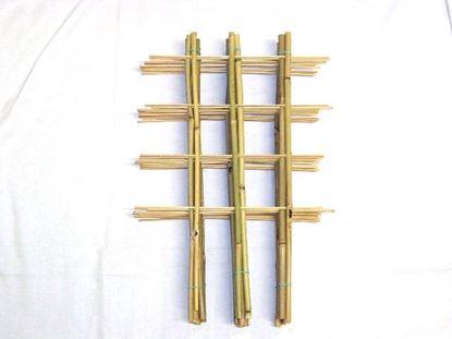 Obrázek Žebřík bambusový dvojitý 60 cm - BALENÍ 5ks