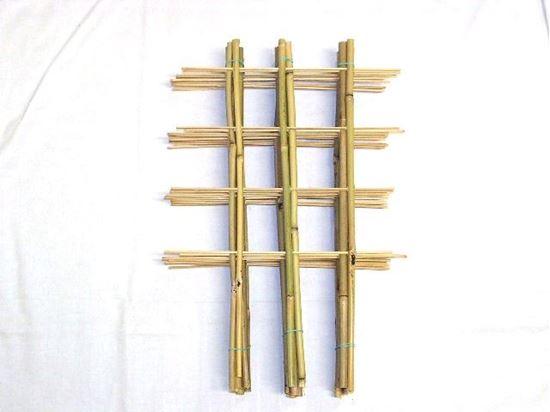 Obrázek z Žebřík bambusový dvojitý 60 cm - BALENÍ 5ks