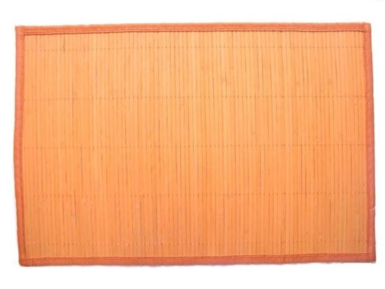 Picture of Bambusové prostírání 30x45cm - oranžová
