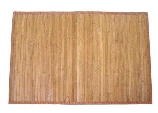 Obrázok z Rohož / Predložka na podlahu - bambus 60x90 hnedá