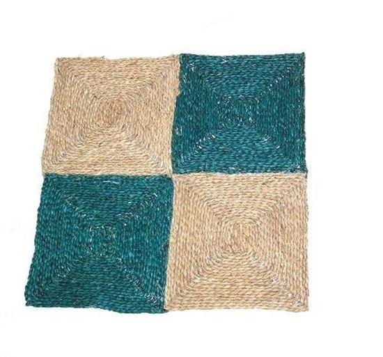 Obrázek z Rohož na podlahu - mořská tráva 60x60 zelená