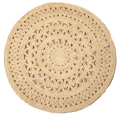 Obrázek Rohož na podlahu - kukuřičná pr.60