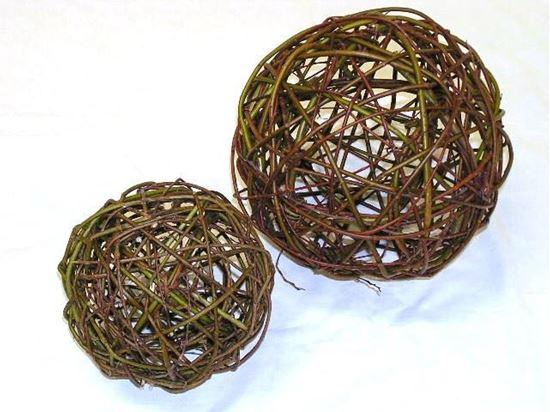 Obrázek z Proutěná koule 20cm