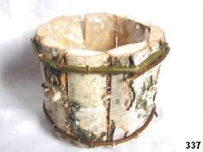 Obrázek Obal kulatý - bříza, s fólií