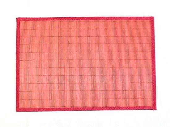 Obrázek z Bambusové prostírání 30x45cm - červená