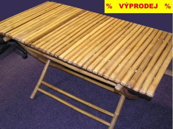 Obrázek z Stůl bambusový