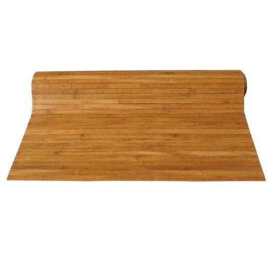 Obrázok z Rohož na stenu - bambus 90x200 hnedá