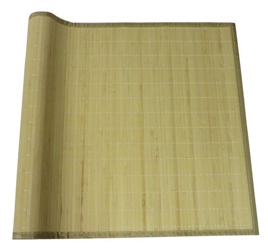Obrázok z Rohož bambusová 70x200 svetlá - obšitá