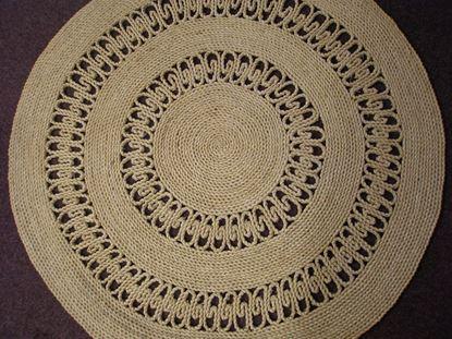 Obrázek Rohož na podlahu - kukuřičná pr.120