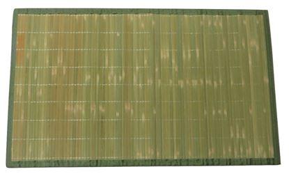 Picture of Rohož / Předložka na podlahu - bambus 60x90 zelená