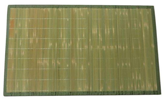 Obrázok z Rohož / Predložka na podlahu - bambus 60x90 zelená