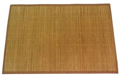 Picture of Rohož / Předložka na podlahu - bambus 60x90 hnědá