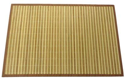 Picture of Rohož / Předložka na podlahu - bambus 60x90 kombinovaná