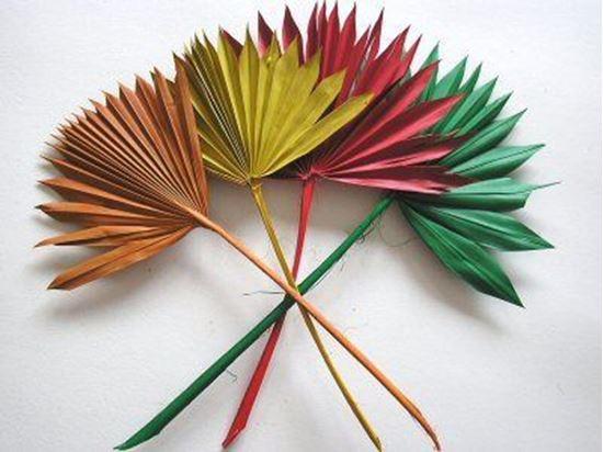 Picture of Palm sun spear mini - barevný (10ks)