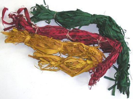 Obrázek z Raffia slim indická - barevná (1kg)