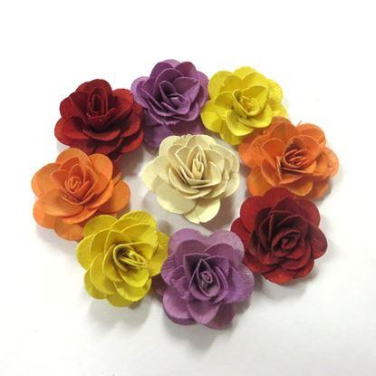Obrázek Deco růže malá - barevná (50ks)