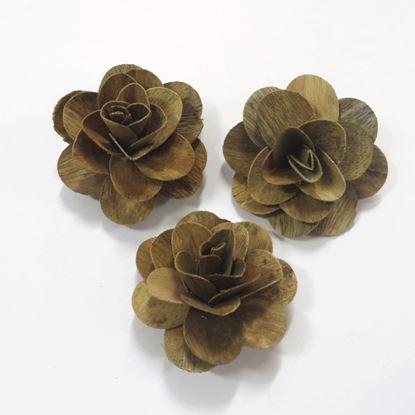 Obrázek Deco růže střední - přírodní (50ks)