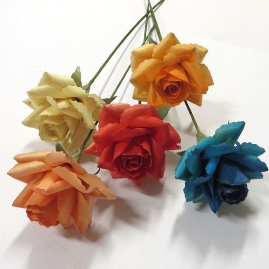 Obrázek z Deco růže - barevné (2ks)