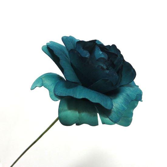 Obrázek z Deco růže - modrá (2ks)