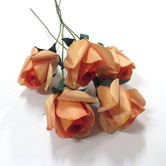 Obrázek z Deco růže - růžová (5ks)