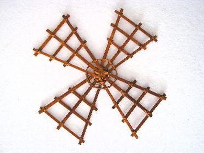 Obrázek Podklad - mlýn 30x30cm