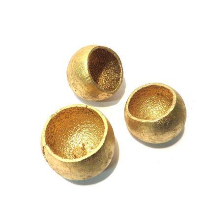 Obrázek Bell cup mini - zlatý, stříbrný (15ks)