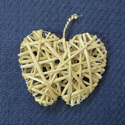 Obrázek Proutěné jablko - dekorace k zavěšení (3 BARVY)