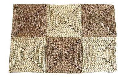 Picture of Rohož  na podlahu - kukuřice + mořská tráva 90x150