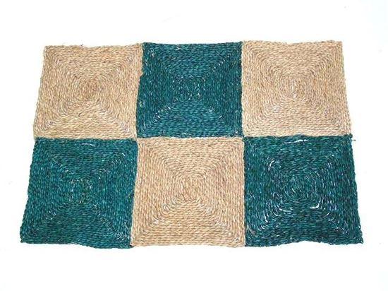 Obrázek z Rohož na podlahu - mořská tráva 90x120 zelená