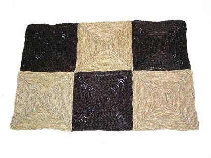 Obrázok z Rohož na podlahu - morská tráva 90x150 hnedá