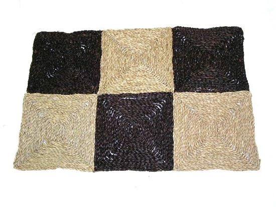 Obrázek z Rohož na podlahu - mořská tráva 90x150 hnědá