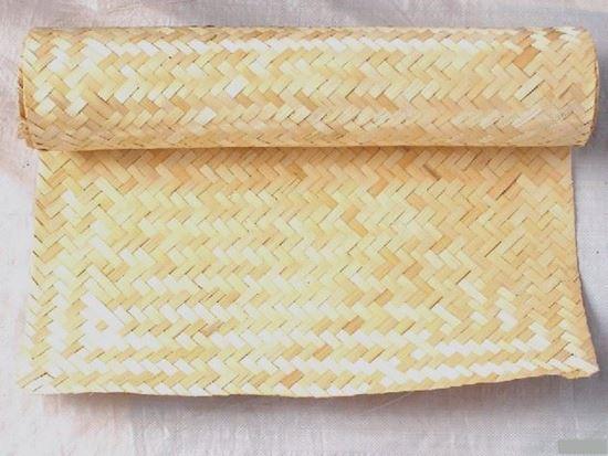 Obrázek z Rohož na stěnu - loupaný bambus 80x200
