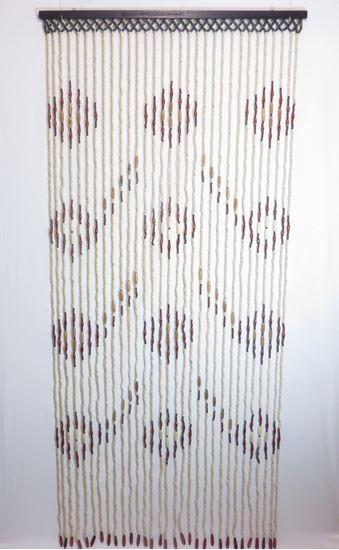Obrázek z Závěs 90x200cm - dřevěný