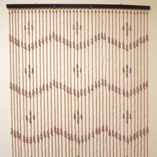 Obrázek z Závěs 120x200cm - dřevěný