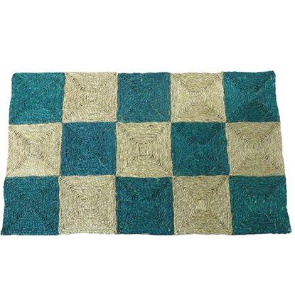 Obrázek Rohož na podlahu - mořská tráva 90x150 zelená