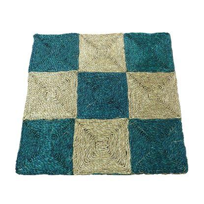Obrázek Rohož na podlahu - mořská tráva 90x90 zelená