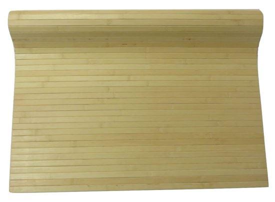 Obrázek z Rohož na stěnu - bambus 90x100 světlá